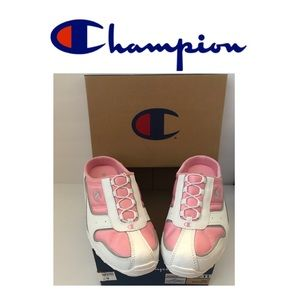 New In Box Champion Pinkwhite Backless